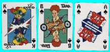 Collectibles advertising playing cards Burger king Zaubertricks